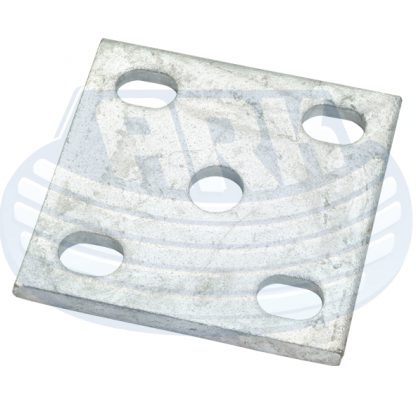 Fish plate axle spring