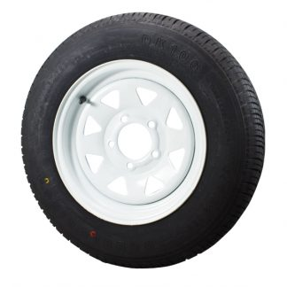 Wheel tyre rim white black 185 light truck 14 inch 16 inch Ford Holden Landcruiser