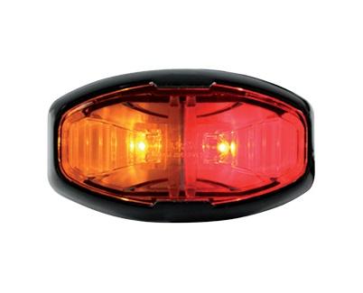 Amber Red Side Trailer Marker Lamp LED Multi Volt ADR