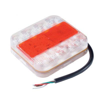 LED rear trailer light brake stop indicator tail