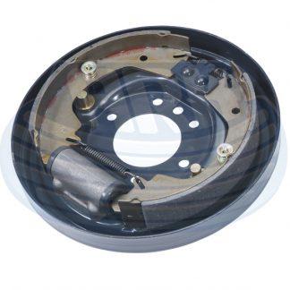 Hydraulic backing plate braked trailer Loadstar